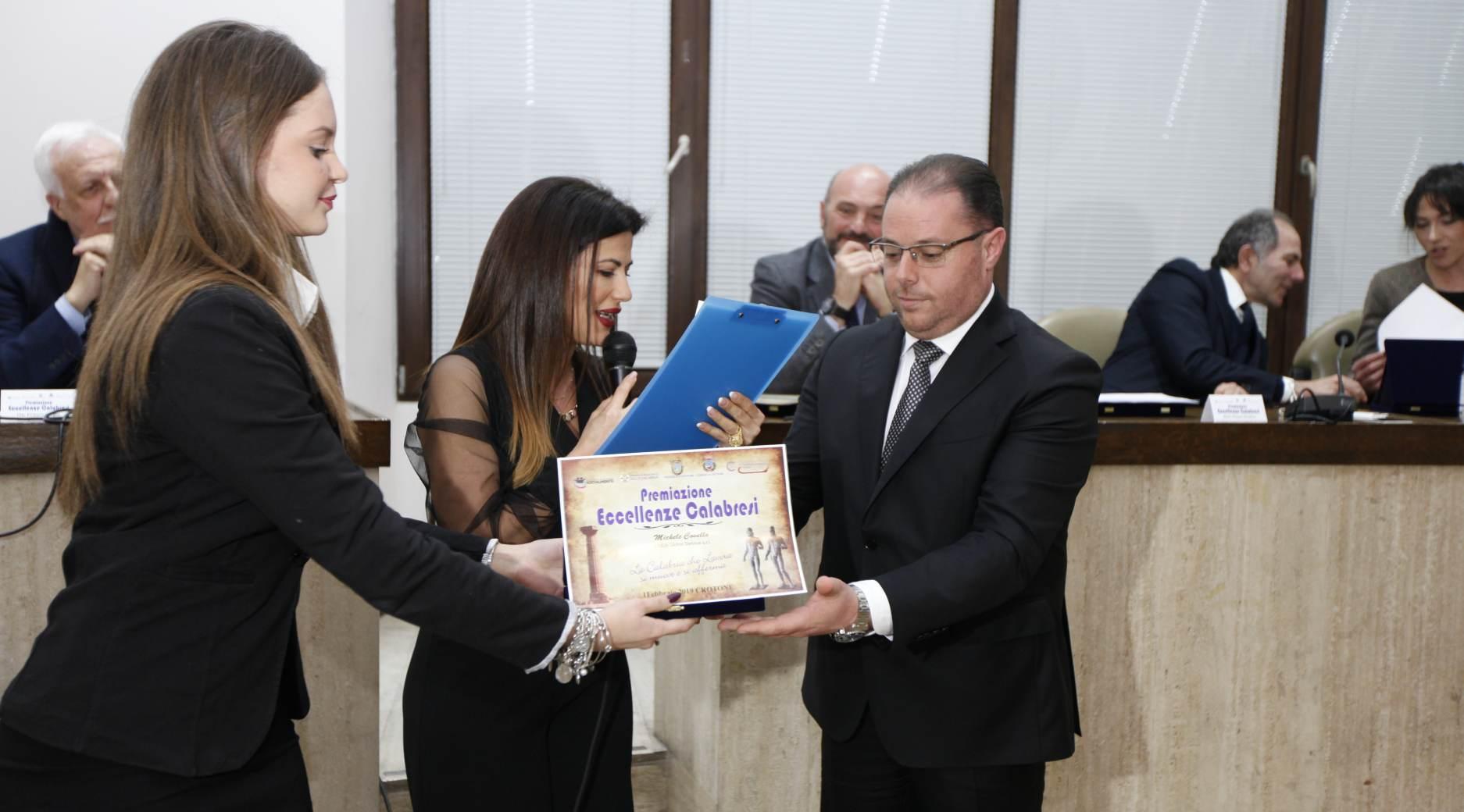 Premiazione Egea Eccellenza Calabrese