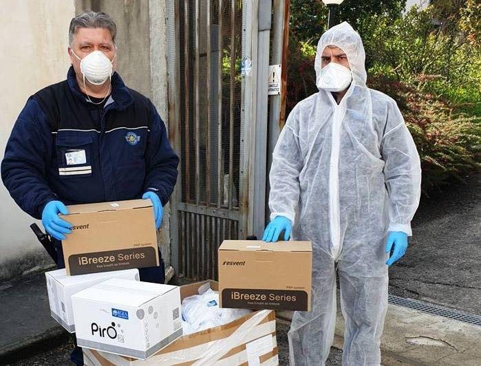 Donazione Egea ospedale Cosenza