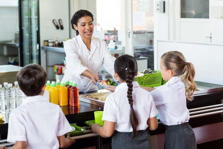 Ristorazione per mense scolastiche