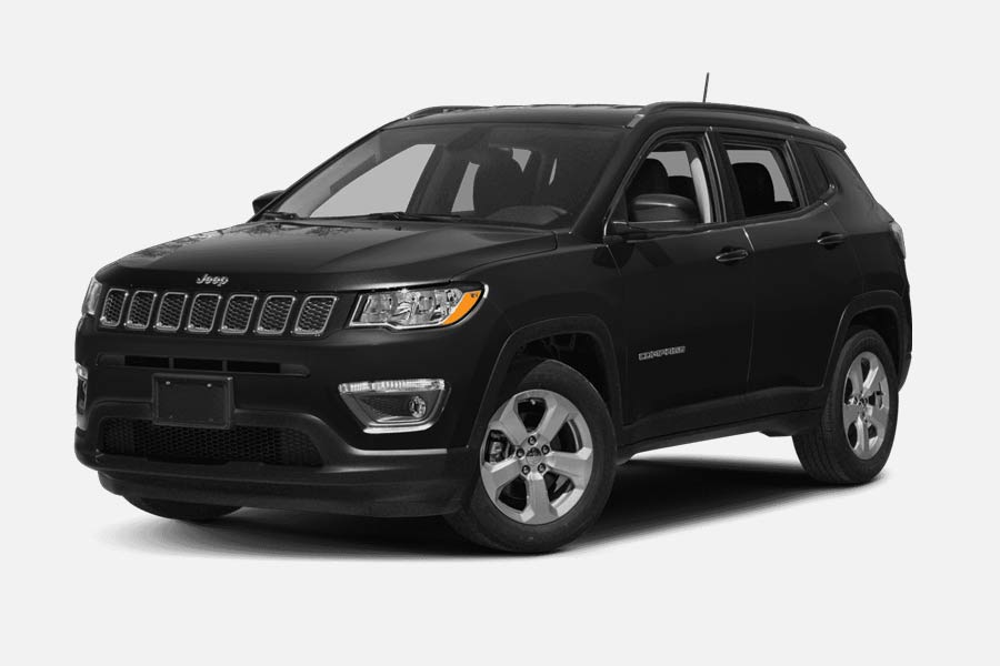 Noleggio Jeep Compass nera