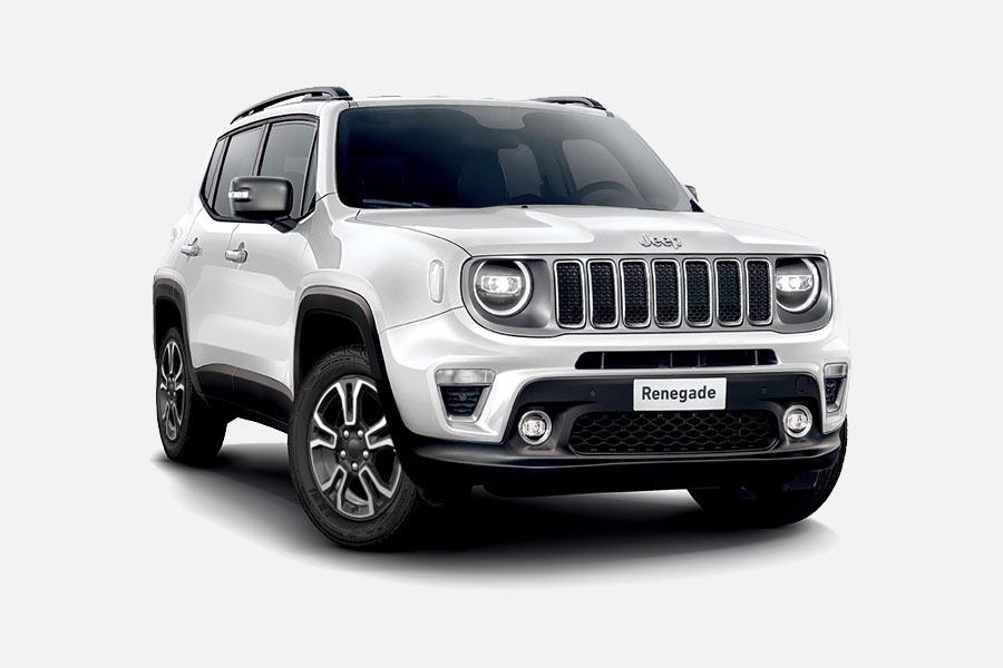 Jeep Renegade bianca