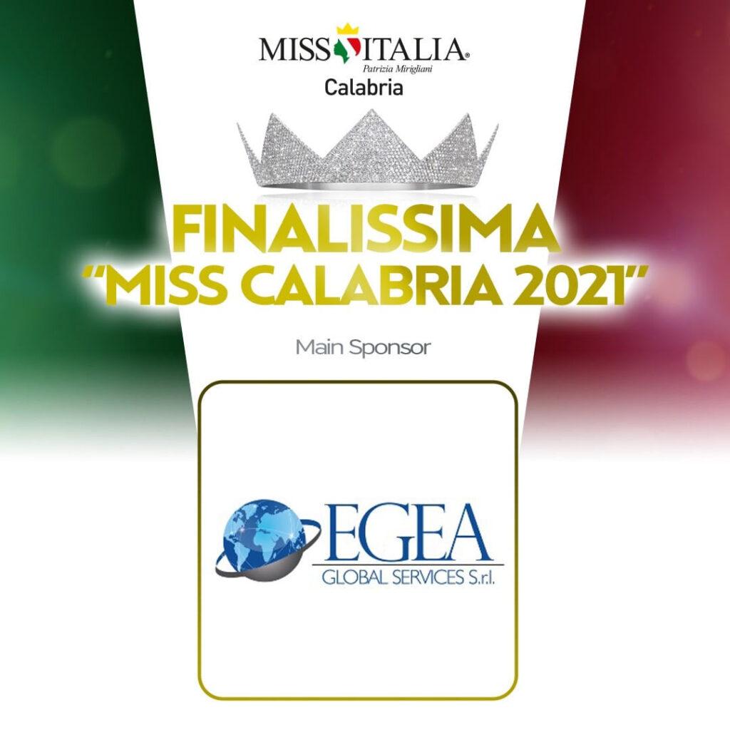 Egea sponsor Miss Italia Calabria 2021